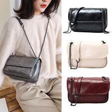 Women Fashion PU Shoulder Handbag Chain Crossbody Hobo Bag Messenger Purse US