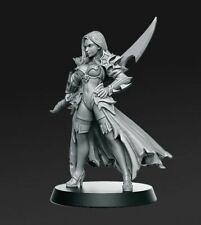 RPG Miniatures of women for warhammer, board and role-playing games, necromunda,