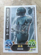 STAR WARS Force Awakens - Force Attax Trading Card #018 2-1B Medical Droid