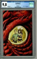 Leviathan #1 CGC 9.8 Variant Cover G Crees Virgin Edition Unknown Comic Books