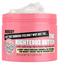 Soap & Glory Righteous Butter Body Moisturiser 300ml Shea Butter & Aloe Vera NEW