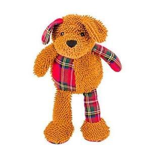 Festive Goodboy 35CM GIANT Moppy Dog Soft Plush Squeaky Christmas Dog Toy 10111