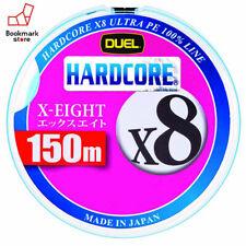 NEW Duel Hardcore X8 150m 16lb/7kg #0.8 White 8 Braid PE Line H3295-W Japan