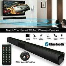 Wireless Bluetooth Sound Bar Speaker System TV Home Theater Soundbar Subwoofer.