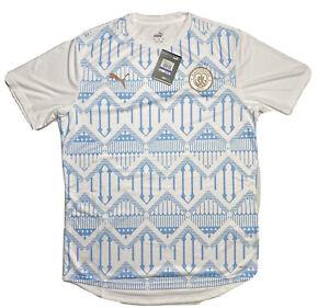 PUMA Manchester City 20/21 Stadium Warm Up Soccer Jersey Size XL