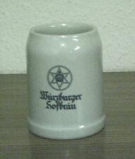 Seltener alter Bierkrug Würzburger Hofbräu, Würzburg, Bayern 0,5 L