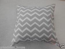 Grey Chevron Nursery Cushion Cover - 40cm x 40cm Perfect Gift!!