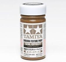 NEW TAMIYA 87109 Diorama Texture Paint Soil Effect t Dark Earth 100ML CRAFT TOOL