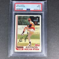 1982 Topps #90 Nolan Ryan Houston Astros HOF PSA 9