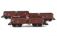 Arnold HN6364 N Gauge DR Hopper Wagon Set (3) IV