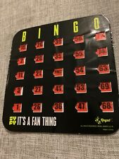 SDCC 2018 SYFY Bingo Card It's A Fan Thing