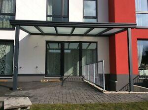 Terrassenüberdachung aus ALU mit 10 mm VSG Glas Klar