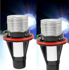 For BMW Angel Eyes Halo White 6000K LED Ring Marker Light Bulbs X5 E39 E60 E63