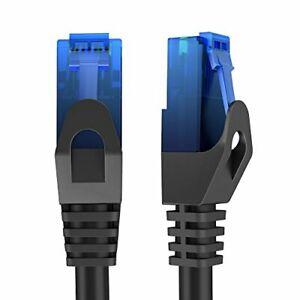 Câble Réseau Ethernet Fiche RJ45 Cat6 Connexion Internet Rapide 30m Neuf FR