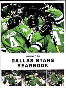 2019 - 2020 DALLAS STARS YEARBOOK -National Hockey League-Seguin, Pavelski, Benn