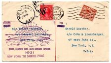 G.B.: 1931 Wilkins-Ellsworth Trans Arctic Submarine Expedition cover