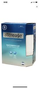 ALLEREASE Allergy Protection Waterproof Mattress Protector | FULL Open Box