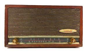 Packard Bell Tube AM/FM Radio Vintage Table or Desk Top 1950's - Works