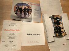 "The Beatles ""A Hard Day'S Night"" Plate #3 w/Coa & Box 1991 Delphi Apple 7317 D"