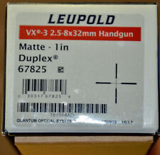 Leupold Vx-3 2.5-8x32mm Handgun Scope, New in Box