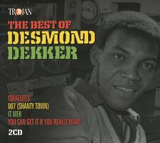 Desmond Dekker 2 X CD Best of 2016 Israelites Reggae SKA Trojan