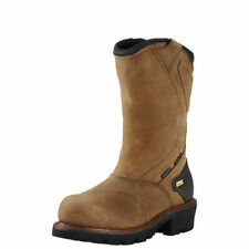 "Ariat 10018569 Powerline 11"" WP Safety Toe Insulated Pull On Wellington Boots"