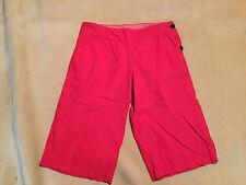 "Womens Henri Lloyd Shorts Red Size 2 (UK10) 32"" Waist, 15"" Inseam Great Cond"