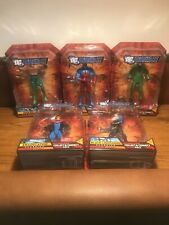 DC Universe Wave 5 Complete Set - (Metallo Build - New/Sealed)