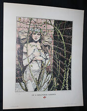 In a Sheltered Corner Print - 82/1200 (EX) 1977 Signed by Jeff Jones