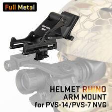 Norotos Full Metal Rhino Mount II  NVG Night Vision ACH Lowering Arm Pre Owned