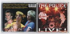 2 Cd THE POLICE LIVE ! - OTTIMO A&M 1995 Sting Andy Summers Steve Copeland
