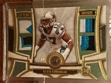 Devin Funchess 2015 Topps Supreme Rookie Quad Jersey #1/10 Panthers