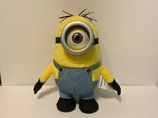 """Minions Stuart 10"""" Plush Stuffed Doll - Toy Illumination Thinkway - Stuff Minion"""