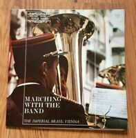 """The Imperial Brass - Marching With The Band 12"""" Vinyl Record (LP28A)"""