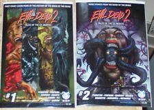 Evil Dead 2 Tales Of The Ex-Mortis Horror Comic 3 Issue Lot Sam Raimi Deadites
