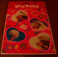 Gibson 1992 VINTAGE BARBIE 2 Sheets STICKERS SEALED NEW