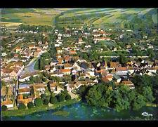 CHAMP-sur-YONNE (89) VILLAS en vue aérienne , BORDS DE L'YONNE en 1989