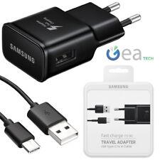 Caricabatterie Fast 15W Originale Samsung EP-TA20EBEC Nero Per Galaxy S9/S9 Plus