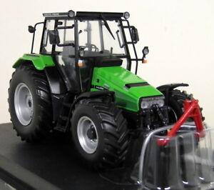 UH 1/32 Scale 4217 Deutz Fahr Agroxtra 4.57 Green Diecast model Farm Tractor