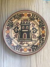 Socarrat  Siglo Xv Hand Made Clay Plate By Enrique Sanantonio