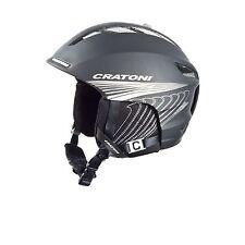 Cratoni C-Instinct Snow Sports, Ski Helmet Black/Silver Matte 59-62cm EX DISPLAY