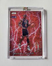 Michael Jordan SCORING KINGS Legacy Red Sparkle Refractor Team USA