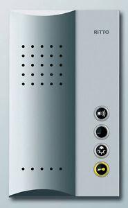 Ritto Freisprechstelle 1723020 TwinBus Freisprechstation silber Türstation