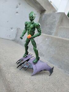 Marvel Legends Spider-Man Movie Green Goblin ToyBiz 2002 Loose Glider Raimi