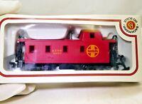 Bachmann train ATSF Santa Fe HO Scale 3851 Red Caboose railroad Boxed
