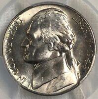 1948 S PCGS MS66 Jefferson Nickel 5c ~ Better Date BU Gem Nickel