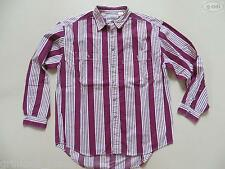 """Levi's """"Shirt for Jeans"""" Hemd Gr. L, rot-weiß gestreift, 2 Taschen mit Knopf !"""