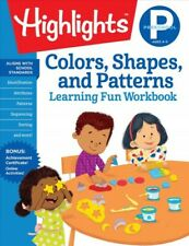 Colors, Shapes, and Patterns, Preschool, Paperback by Highlights for Children...