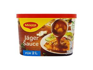 Maggi Jäger Sauce escalope chasseur 🍖 2x economy packs 2L / 0.53gal each