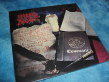 MORBID ANGEL -COVENANT- AWESOME RARE ORIGINAL 20 YEAR ED LTD GATE-FOLD STICKER